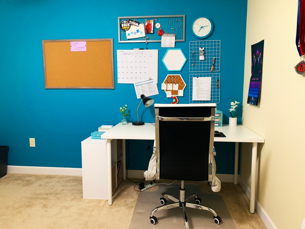 Another Girl Named Ashley - My Home Office - Desk, back view