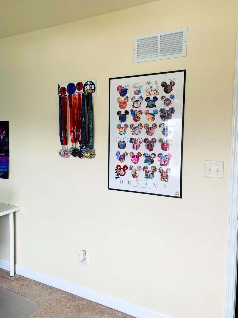Another Girl Named Ashley - My Home Office - Accomplishment Wall